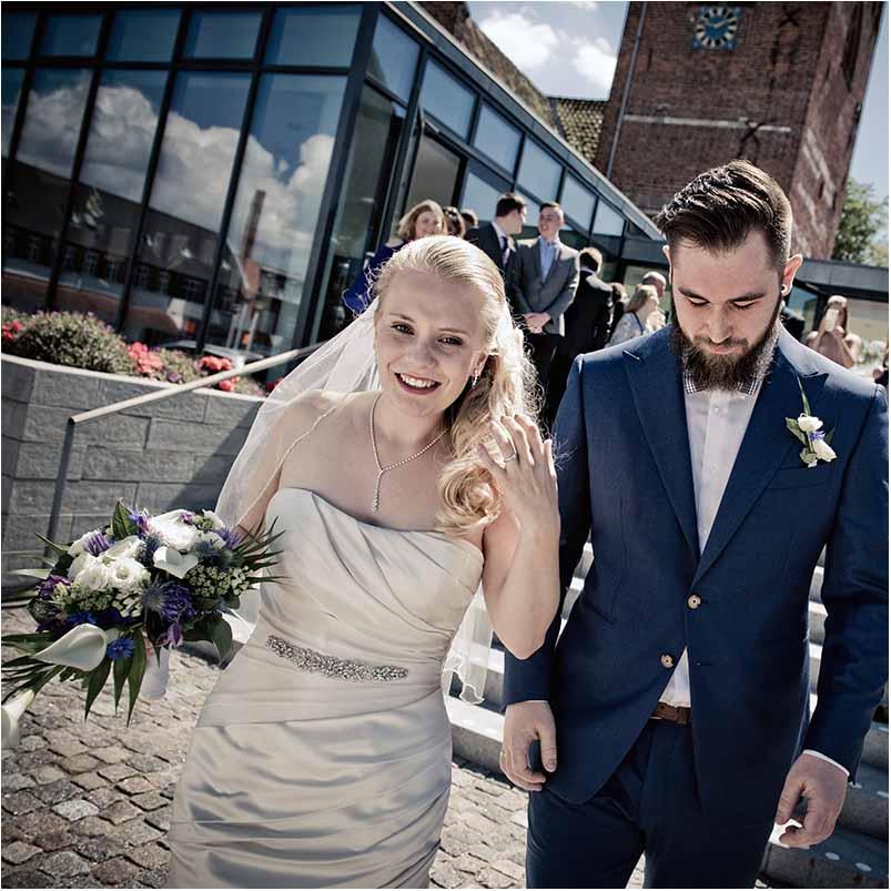 Tre bryllupsfotografer: Her er vores bedste billeder